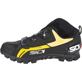 Sidi MTB Defender Chaussures Homme, black/yellow